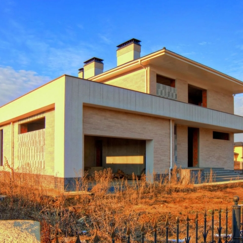Строительство дома в коттеджном поселке